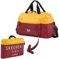 Torby Torby podróżne Skechers MOVE Zintegrowana kieszonkowa składana torba na siłownię Stare złoto