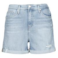 tekstylia Damskie Szorty i Bermudy Calvin Klein Jeans MOM SHORT Niebieski / Clair