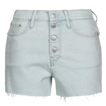 tekstylia Damskie Szorty i Bermudy Calvin Klein Jeans HIGH RISE SHORT Niebieski / Clair
