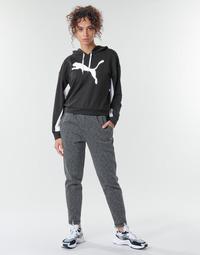tekstylia Damskie Spodnie dresowe Puma Evostripe Pants Szary / Czarny