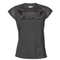 tekstylia Damskie T-shirty z krótkim rękawem Puma WMN TRAINING TEE F Czarny