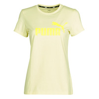 tekstylia Damskie T-shirty z krótkim rękawem Puma ESS Logo Tee (s) Żółty