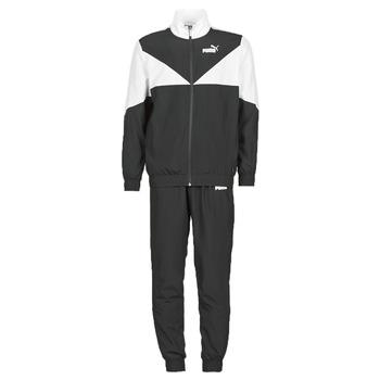 tekstylia Męskie Zestawy dresowe Puma Woven Suit CL Czarny / Biały