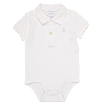 tekstylia Chłopiec Piżama / koszula nocna Polo Ralph Lauren NOUVEL Biały