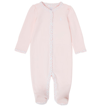 tekstylia Dziewczynka Piżama / koszula nocna Polo Ralph Lauren PAULA Różowy