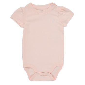 tekstylia Dziewczynka Piżama / koszula nocna Polo Ralph Lauren POLINE Różowy