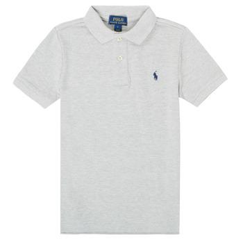 tekstylia Chłopiec Koszulki polo z krótkim rękawem Polo Ralph Lauren TUSSA Szary
