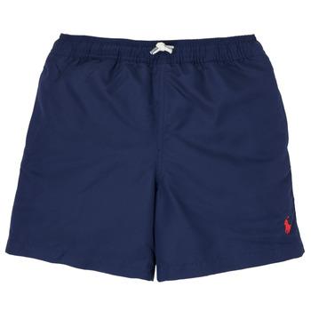 tekstylia Chłopiec Kostiumy / Szorty kąpielowe Polo Ralph Lauren SOLAL Marine