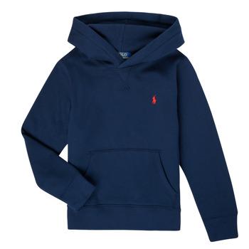 tekstylia Chłopiec Bluzy Polo Ralph Lauren SONNA Marine