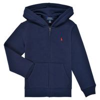 tekstylia Chłopiec Bluzy Polo Ralph Lauren SIDOINE Marine