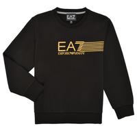 tekstylia Chłopiec Bluzy Emporio Armani EA7 3KBM55-BJ05Z-1200 Czarny