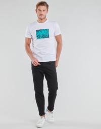 tekstylia Męskie Jeansy straight leg Diesel D-FINNING Czarny