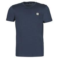 tekstylia Męskie T-shirty z krótkim rękawem Diesel A00356-0AAXJ-81E Marine