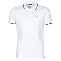 tekstylia Męskie Koszulki polo z krótkim rękawem Diesel 00SW7C-0MXZA-100 Biały