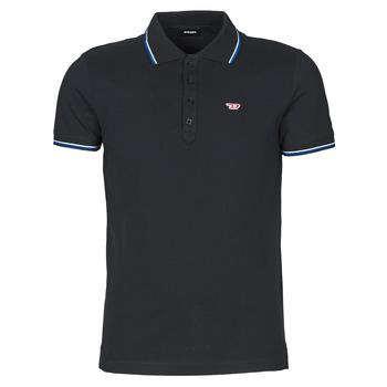 tekstylia Męskie Koszulki polo z krótkim rękawem Diesel 00SW7C-0MXZA-900 Czarny