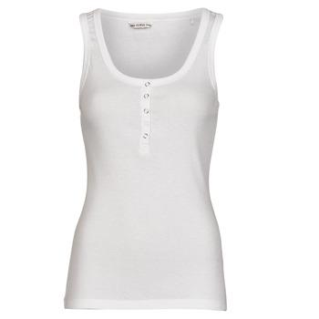 tekstylia Damskie Topy na ramiączkach / T-shirty bez rękawów Guess MILENA TANK TOP Biały