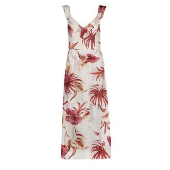 tekstylia Damskie Sukienki długie Guess CORA DRESS Wielokolorowy / Biały