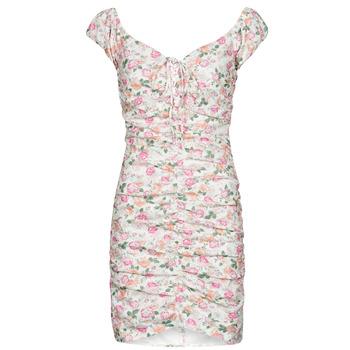 tekstylia Damskie Sukienki krótkie Guess INGRID DRESS Różowy / Clair