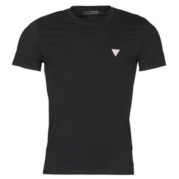 tekstylia Męskie T-shirty z krótkim rękawem Guess CN SS CORE TEE Czarny