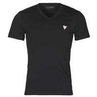 tekstylia Męskie T-shirty z krótkim rękawem Guess VN SS CORE TEE Czarny