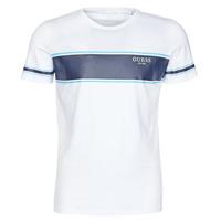 tekstylia Męskie T-shirty z krótkim rękawem Guess CN SS TEE Biały / Marine