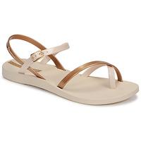 Buty Damskie Sandały Ipanema Ipanema Fashion Sandal VIII Fem Beżowy / Złoty