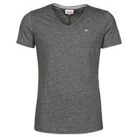tekstylia Męskie T-shirty z krótkim rękawem Tommy Jeans TJM SLIM JASPE V NECK Czarny