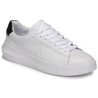 Buty Damskie Trampki niskie Calvin Klein Jeans CHUNKY SOLE SNEAKER LACEUP LTH Biały