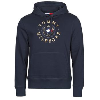 tekstylia Męskie Bluzy Tommy Hilfiger ICON COIN HOODY Marine