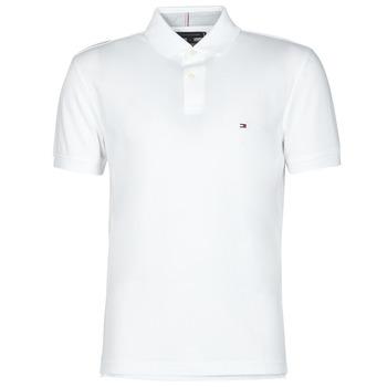 tekstylia Męskie Koszulki polo z krótkim rękawem Tommy Hilfiger 1985 REGULAR POLO Biały
