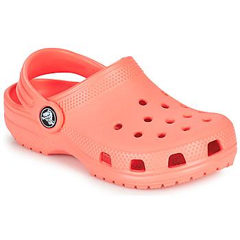 Buty Dziecko Chodaki Crocs CLASSIC CLOG K Pomarańczowy