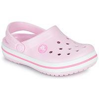 Buty Dziewczynka Chodaki Crocs CROCBAND CLOG K Różowy