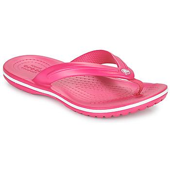 Buty Dziecko Japonki Crocs CROCBAND FLIP GS Różowy