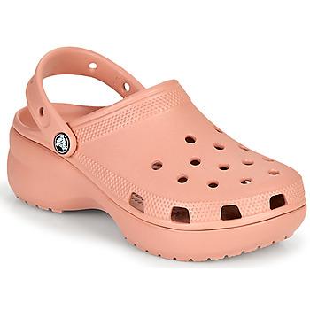 Buty Damskie Chodaki Crocs CLASSIC PLATFORM CLOG W Różowy