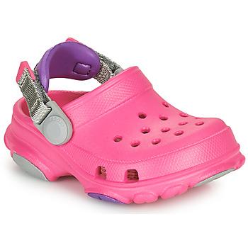 Buty Dziewczynka Chodaki Crocs CLASSIC ALL-TERRAIN CLOG K Różowy