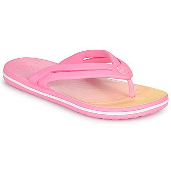 Buty Damskie Japonki Crocs CROCBAND OMBRE FLIP W Różowy
