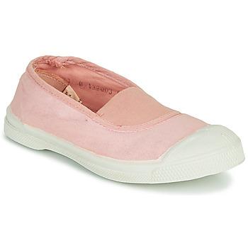 Buty Dziewczynka Trampki niskie Bensimon TENNIS ELASTIQUE Różowy
