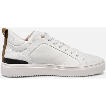 Buty Dziecko Trampki niskie Blackstone Chaussures  UL83 blanc