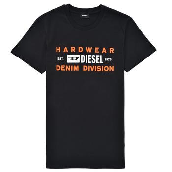 tekstylia Chłopiec T-shirty z krótkim rękawem Diesel TDIEGOSK32 Czarny