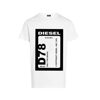 tekstylia Chłopiec T-shirty z krótkim rękawem Diesel TFULL78 Biały