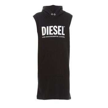 tekstylia Dziewczynka Sukienki krótkie Diesel DILSET Czarny