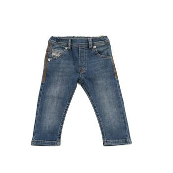 tekstylia Chłopiec Jeansy slim fit Diesel KROOLEY Niebieski