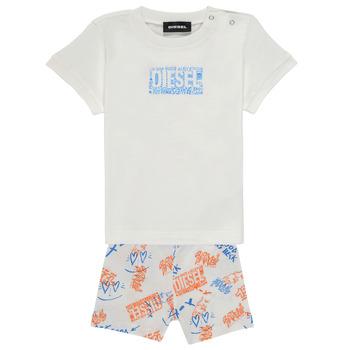 tekstylia Chłopiec Komplet Diesel SILLIN Wielokolorowy