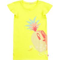 tekstylia Dziewczynka Sukienki krótkie Billieblush / Billybandit U12625-599 Żółty