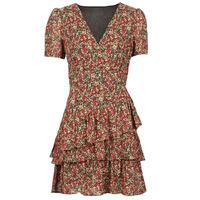 tekstylia Damskie Sukienki krótkie Moony Mood  Czerwony