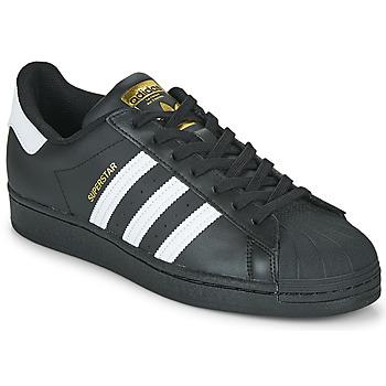 Buty Trampki niskie adidas Originals SUPERSTAR Czarny / Biały