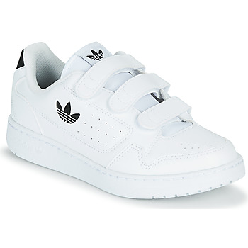 Buty Dziecko Trampki niskie adidas Originals NY 92  CF C Biały / Czarny