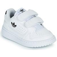Buty Dziecko Trampki niskie adidas Originals NY 92 CF I Biały / Czarny