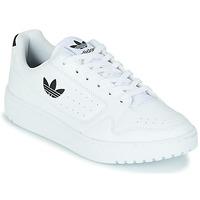 Buty Dziecko Trampki niskie adidas Originals NY 92 J Biały / Czarny