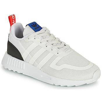 Buty Dziecko Trampki niskie adidas Originals SMOOTH RUNNER C Biały / Czarny